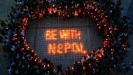 Hilfe für Nepal läuft weiter an