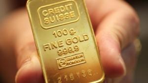 Gold profitiert vom schwachen Dollar