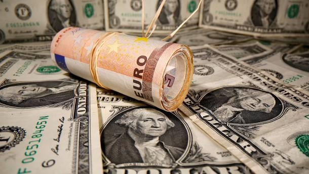 Der Euro ist in der Krise stark