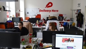Delivery Hero gelingt Parkettdebüt