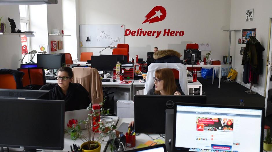 Die Zentrale von Delivery Hero in Berlin