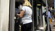 Liebeserklärung an den Geldautomaten