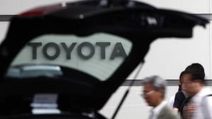 Trump führt Toyota auf politisches Glatteis
