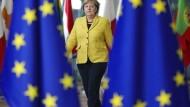 Sie ist wieder für Europa unterwegs: Bundeskanzlerin Merkel