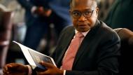 Mthuli Ncube - der neue Finanzminister von Zimbabwe