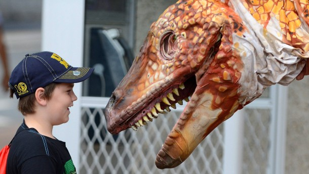 Dinosaurier-Skelett in Mexiko gefunden