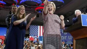 Trump und Clinton holen wichtige Siege in New York