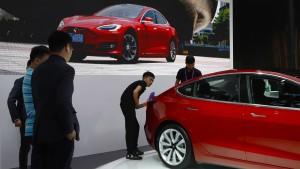 Teslas Anleihe auf Allzeittief