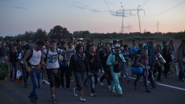 Eine halbe Million Flüchtlinge pro Jahr möglich