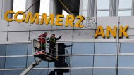 Commerzbank-Vorstand informiert über neue Strategie