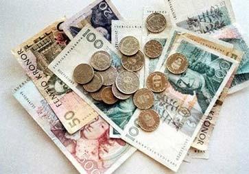 300 Schwedische Kronen Euro
