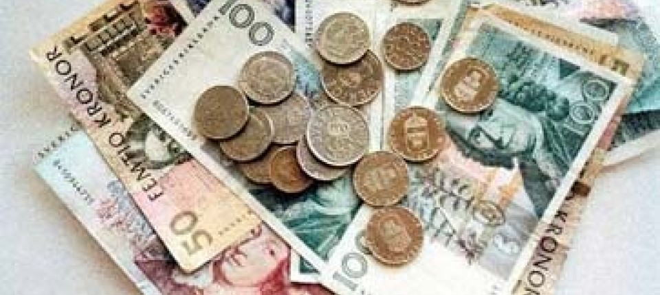 Devisen Schwedische Krone Zeigt Relative Stärke Devisen