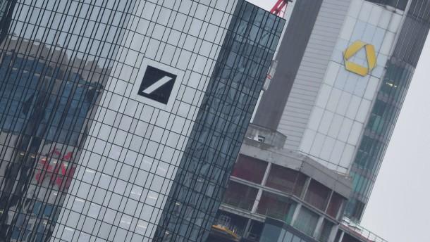 Offizielle Fusionsgespräche zwischen Deutscher Bank und Commerzbank