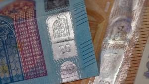 Deutlich weniger Falschgeld in Europa und in Deutschland
