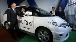 Die Japan AG setzt auf Roboter-Taxis
