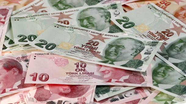 Türkische Lira stürzt weiter ab