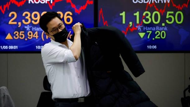 Der schwache Dollar treibt die Preise