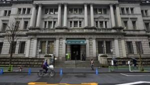 Japanische Notenbank hält Geldpolitik stabil
