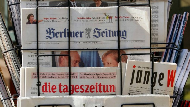 Deutsche Zeitungsverleger treffen sich