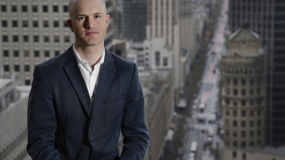 Coinbase-Gründer Brian Armstrong in San Francisco im Jahr 2016