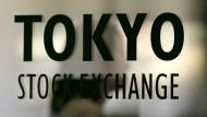 Börse in Tokio gibt nach