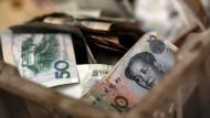 Chinas Währung vor dem Ritterschlag