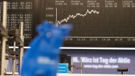 Nur verschwommen nehmen die meisten Anleger den Börsenbullen wahr