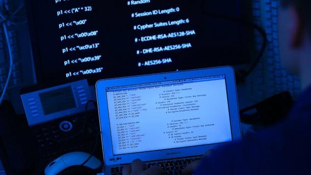 Hackerangriff auf dreizehn deutsche Banken