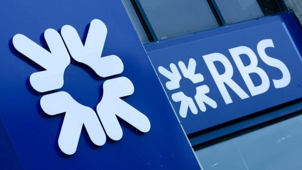 Royal Bank of Scotland soll aufgespalten werden