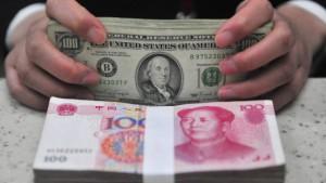 Chinas Inflation lastet auf den Finanzmärkten