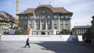 Wilde Spekulationen um die Schweizer Notenbank