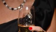 Symbol des Reichtums: Champagner