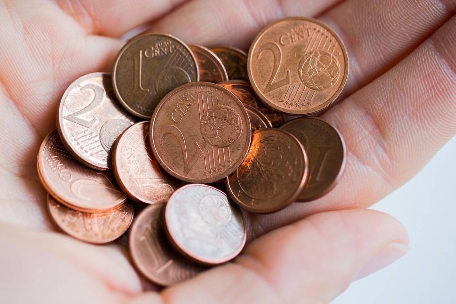 Bild zu: Volksbank auf Wangerooge schafft rote Cent-Münzen ...
