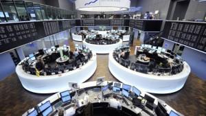 Die Börsen stehen im Spannungsfeld der Politik