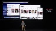 Apple will sich zum Unterhaltungskonzern wandeln.