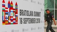 EU berät ohne Briten in Bratislava über ihre Zukunft