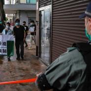 Proteste gegen Pekings sogenanntes Sicherheitsgesetz