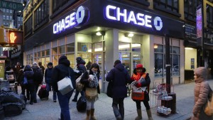 Amerikaner lieben Bankfilialen