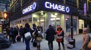 Gern genommen: Bankfiliale in New York