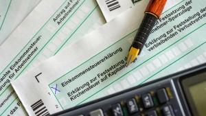 Die Kosten für den Steuerberater