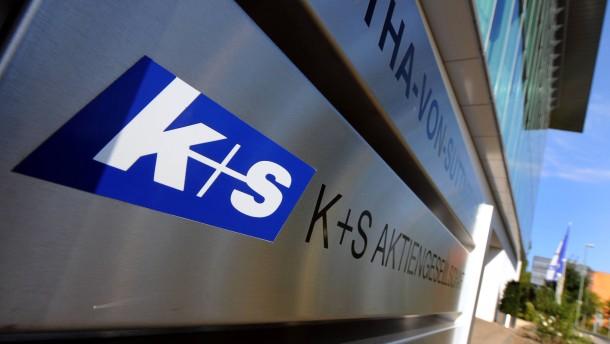 K+S an Daxspitze
