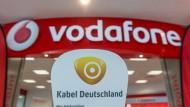 Vodafone zahlte zu wenig für Kabel Deutschland