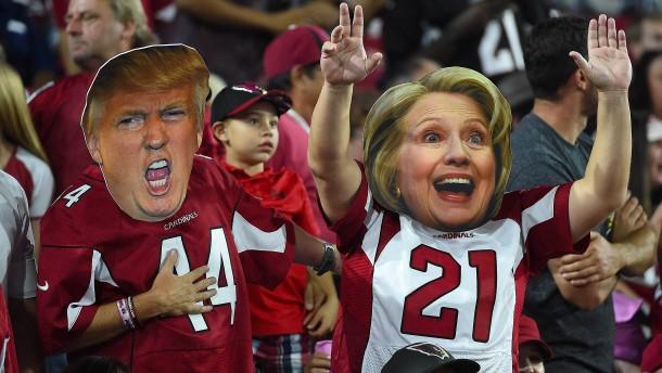 Letztes Fernsehduell zwischen Clinton und Trump