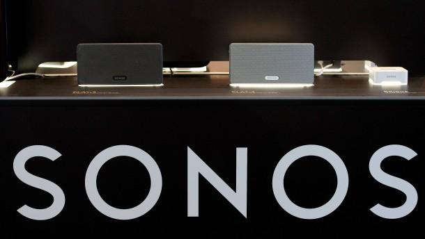 Lautsprecher-Hersteller Sonos wenig beliebt