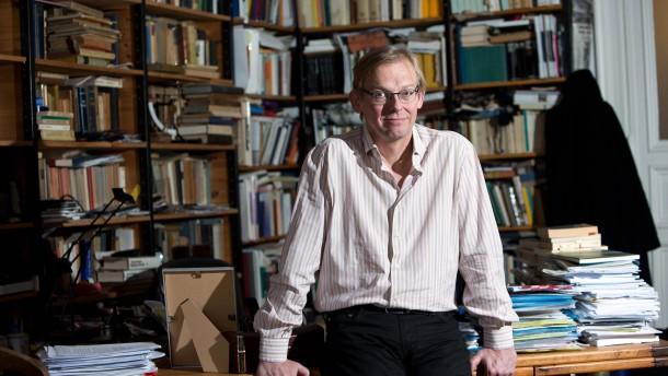 Dieter Thomä - Der deutsche  Philosoph mit den Arbeitsschwerpunkten Sozialphilosopie, Ethik und Kulturphilosophie hat einen Lehrstuhl an der Universität St. Gallen inne. Er stellt sich in Berlin den Fragen von Inge Klöpfer