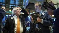 Wie geht es mit Amerikas Tech-Werten weiter? Die Aktienhändler an der Wall Street haben in diesen Tagen viel zu tun.