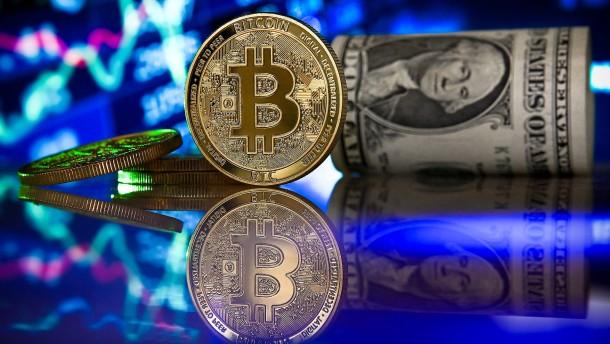 Der Trick mit den Bitcoin-Münzen aus Silber