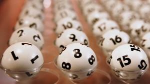 Hoffen auf den Lottogewinn