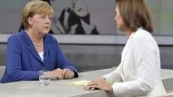 Merkel fordert einheitliche Asylstandards in der EU