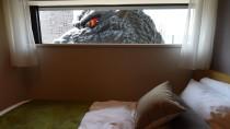 Bedrohliche Aussichten: Die japanischen Wachstums- und Inflationsprognosen verheißen auch für das Godzilla-Hotel in Tokio nichts gutes.